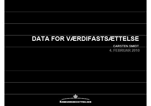 Data-for-vaerdifastsaettelse