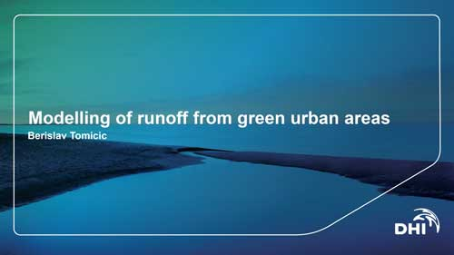 Modelling-of-runoff-from-green-urban-areas