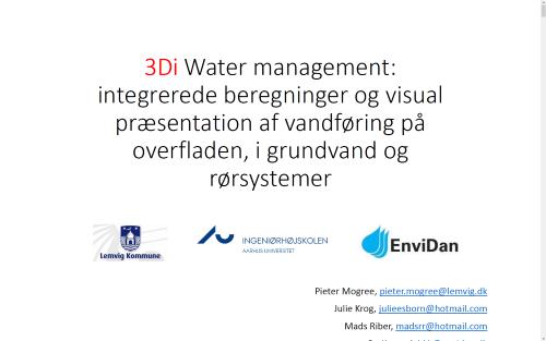 3Di-Water-management