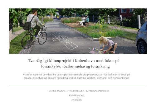 Tværfagligt klimaprojekt i København