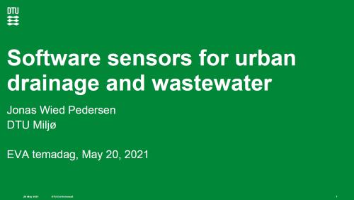 Software-sensors-for-urban-drainage